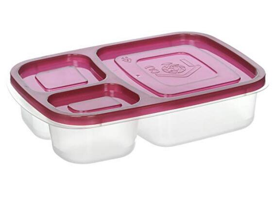 Sodynee Set of 4 Bento Lunch Box with Lids